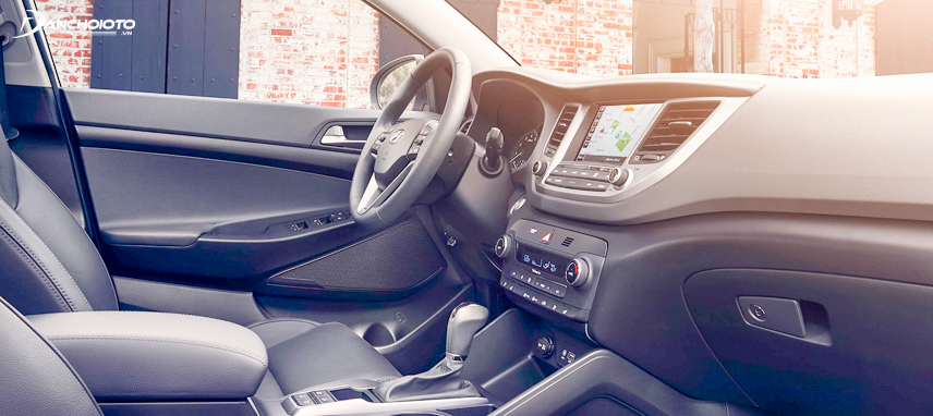 New 8inch screen on Tucson 2019