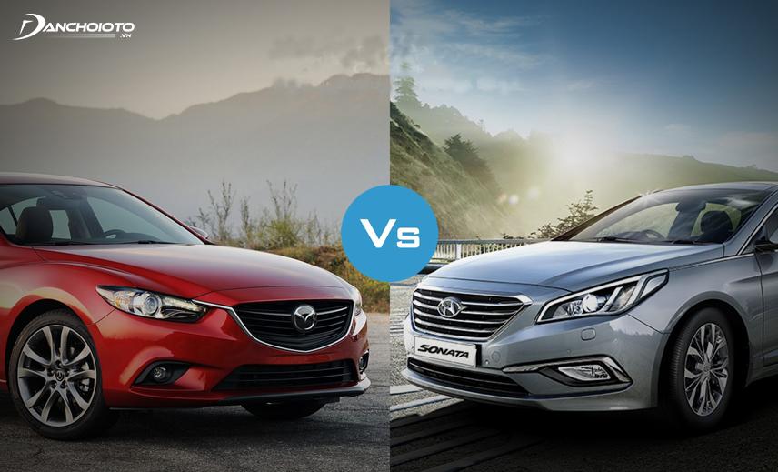 Mazda 6 và Hyundai Sonata 2013 - 2014 đều là lựa chọn xe 5 chỗ cũ giá 600 triệu tốt