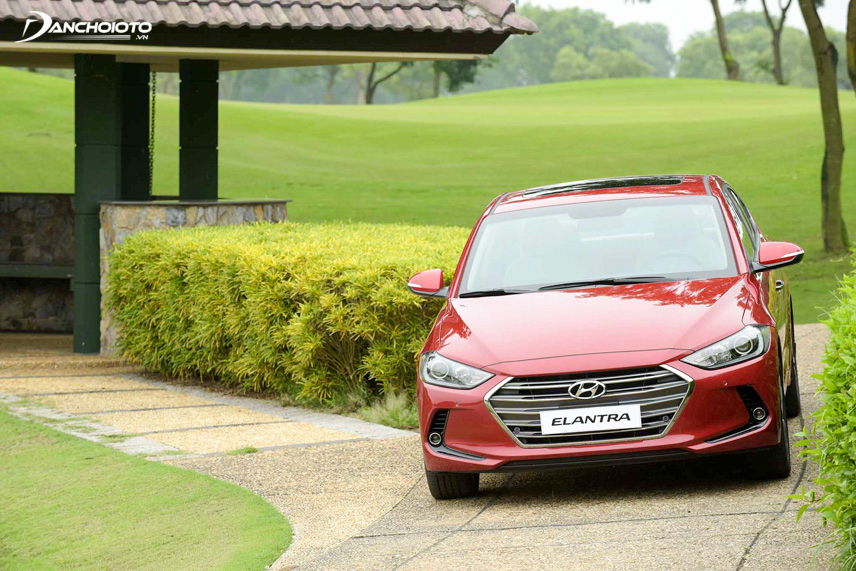 The old Elantra 2016 exterior is designed almost completely new than the previous generation