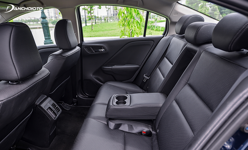 Nội thất xe Honda City rộng rãi bậc nhất phân khúc