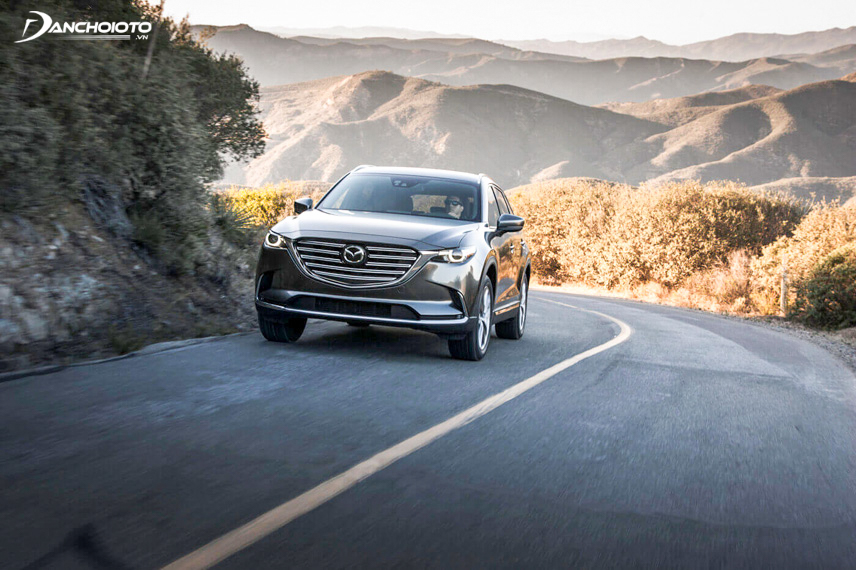 All CX-9 versions are powered by a 2.5-liter I4 engine
