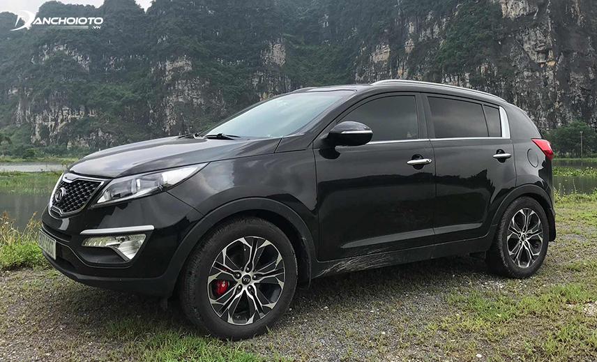 Strengths of Kia Sportage 2014 - 2015 compared to other 600 million models are imported and stable vehicles