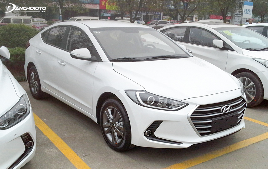 Safety equipment on the old Elantra 2016 outperformed the competition
