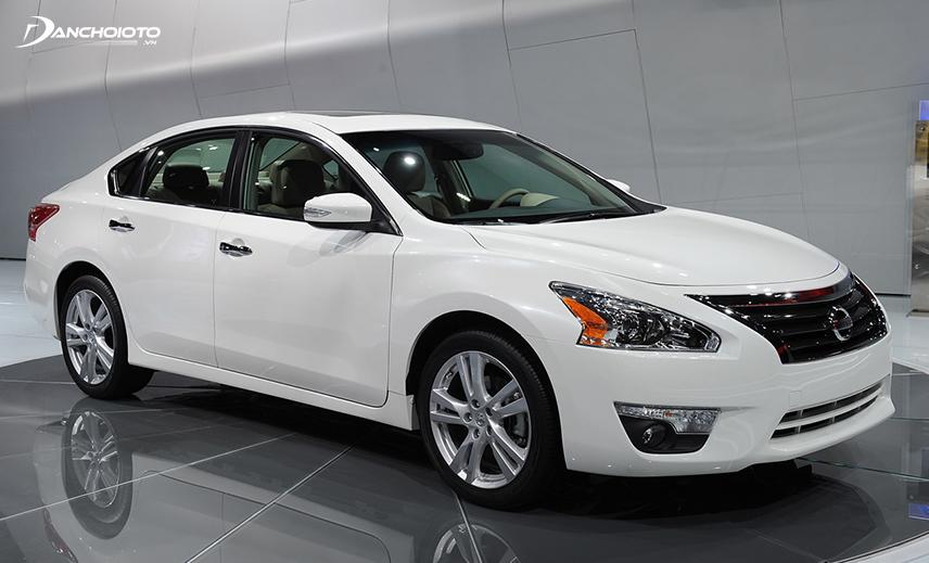 Ưu điểm Nissan Teana 2013 cũ là xe nhập khẩu từ Mỹ