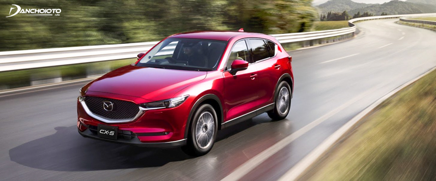 CX-5 is somewhat better than Tucson because it has advanced safety features