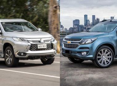 """Chevrolet Trailblazer 2018 có gì để đọ với """"vua việt dã"""" Mitsubishi Pajero Sport 2018?"""