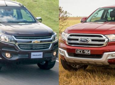 """Chevrolet Trailblazer 2018 và Ford Everest 2018: """"Chàng cao bồi"""" nào dành cho bạn?"""