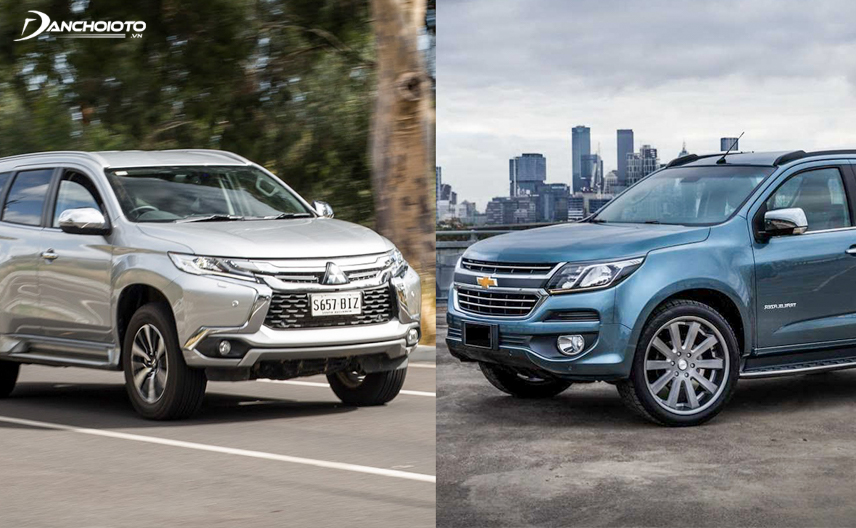 2018 Chevrolet Trailblazer and Mitsubishi Pajero Sport 2018