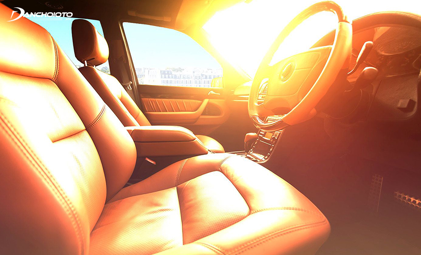 Parking cars in the hot sun has many hidden dangers