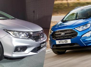 Honda City 2018 và Ford Ecosport 2018: Xe nào đáng lựa chọn?