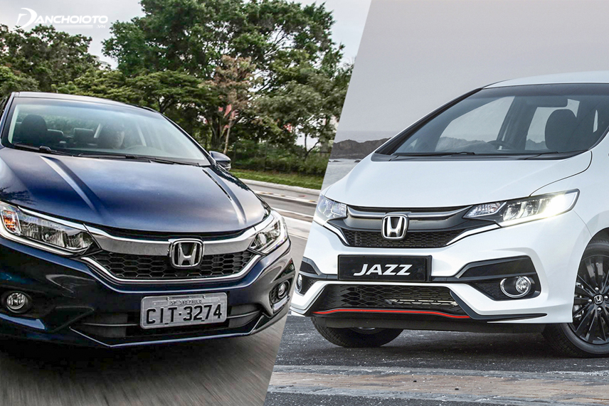 Honda Jazz 2018 và Honda City 2018