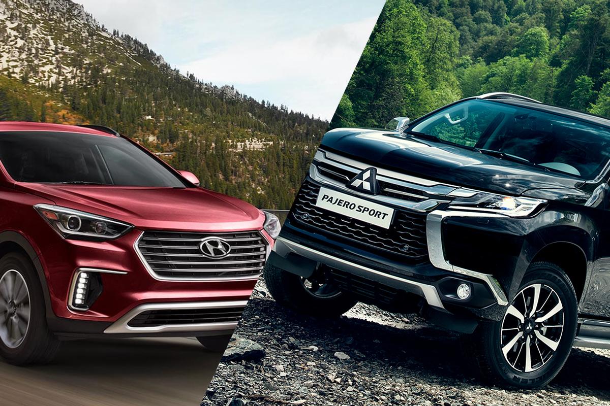 Hyundai Santafe 2018 và Mitsubishi Pajero Sport 2018: Hàn – Nhật so găng trong phân khúc SUV