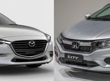 Mazda 3 2018 hay Honda City TOP 2018: Không dễ để lựa chọn!