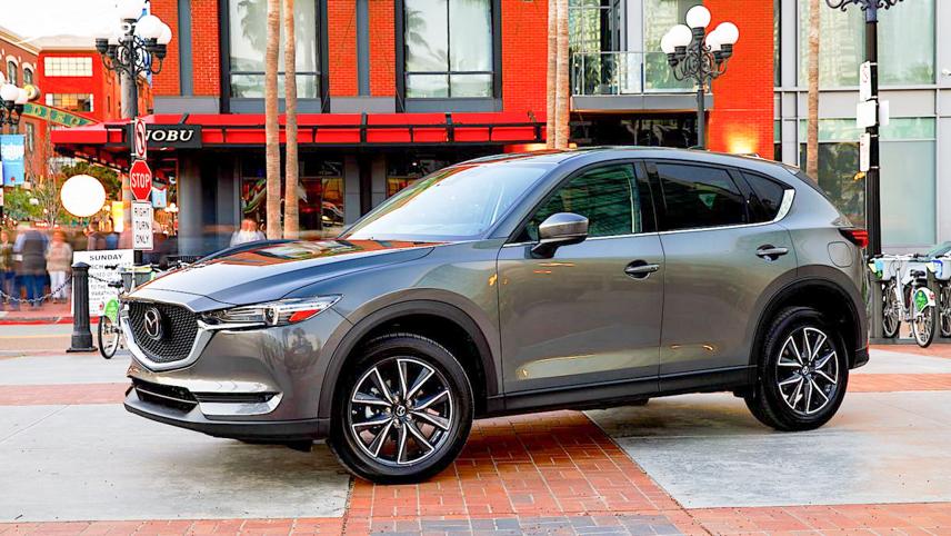 Mazda CX-5 has charm and softness