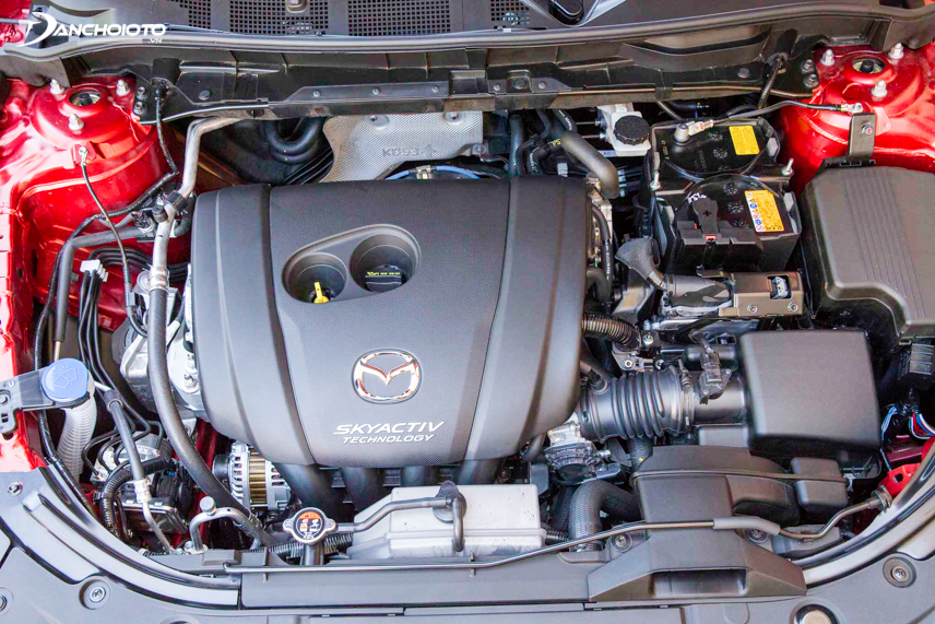 Mazda provides users with engine options