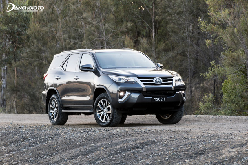 Elegant and luxurious design of the Toyota Fortuner 2018