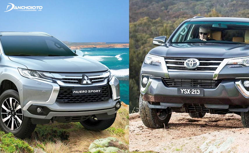 Toyota Fortuner 2018 and Mitsubishi Pajero Sport 2018