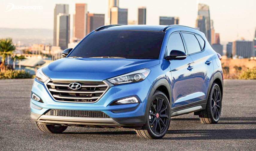 Tucson 2018 is designed in a modern style and personality