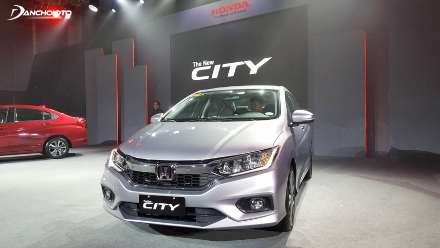 The modern sportiness is evident in this year's Honda City