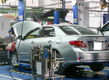 Các hạng mục bảo dưỡng xe Toyota khi chạy được 40.000km