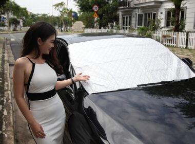 Tư vấn mua tấm che nắng xe ô tô: Tấm che nắng ô tô loại nào tốt?