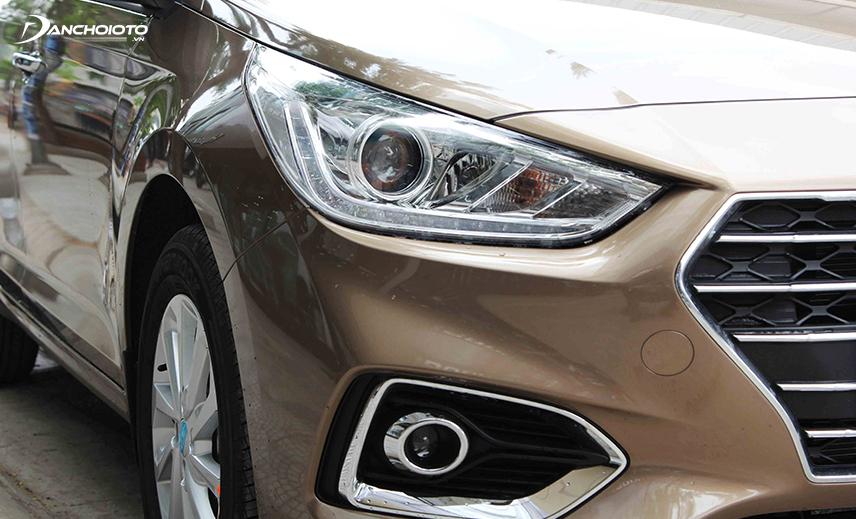 Cụm đèn trước Hyundai Accent 2018 - 2019