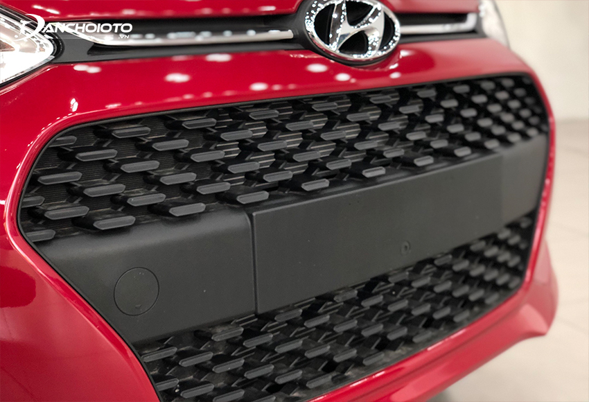 """Đầu xe Hyundai i10 2020 thu hút với lưới tản nhiệt """"thác nước"""" kích thước lớn"""