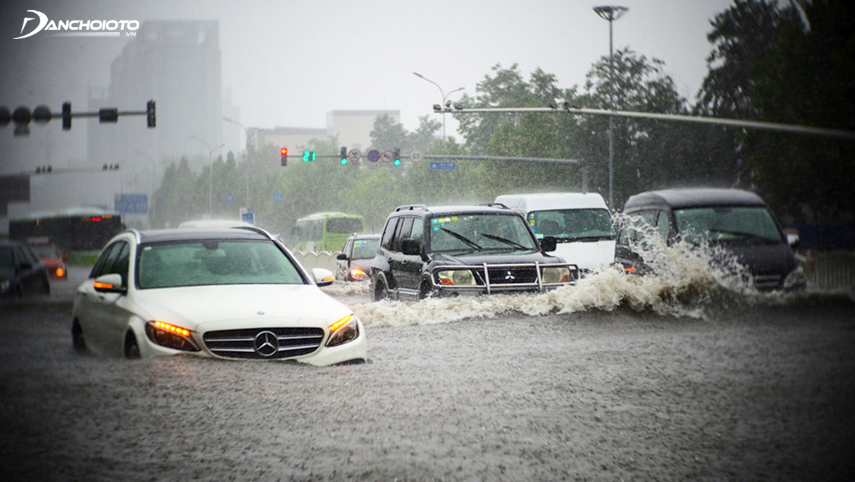 Flooding may cause the system to fail