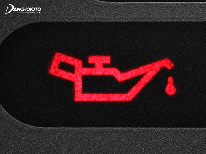 Lubricating oil pressure indicator