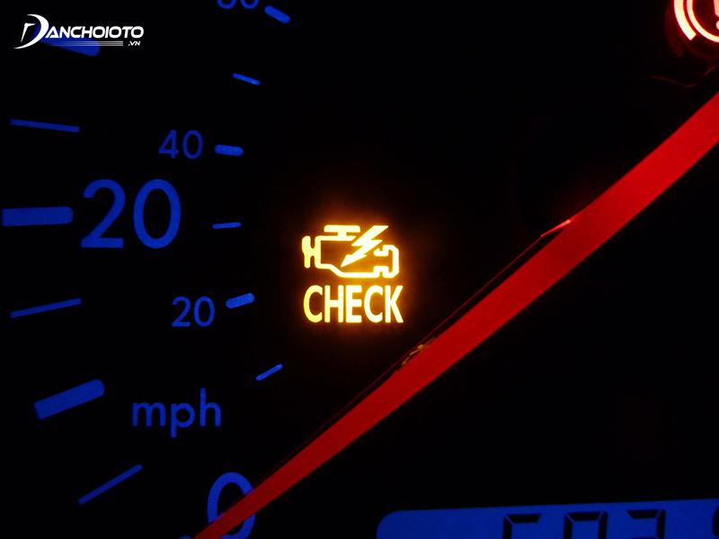 Engine error light (Check engine light)
