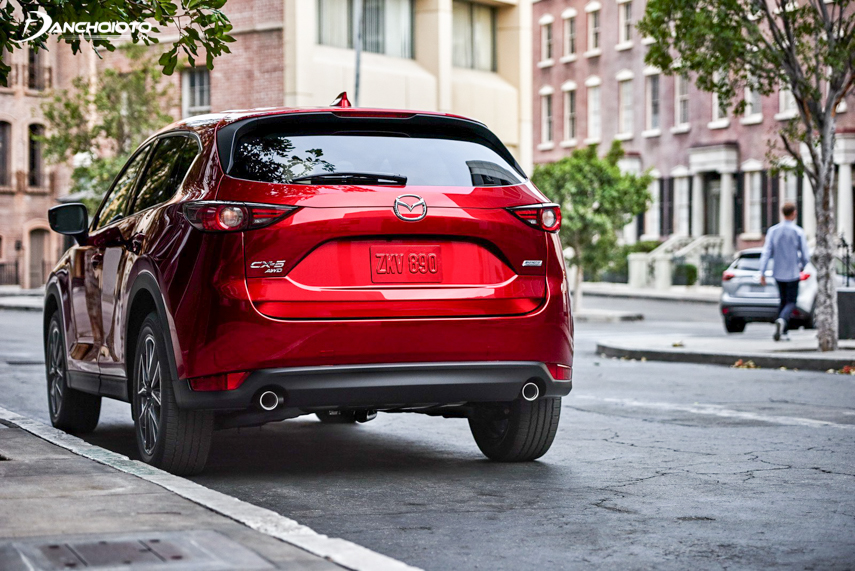 The engine of the CX-5 is somewhat superior to the X-Trail