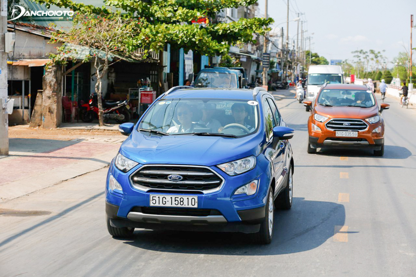 EcoSport 2018 has a smooth and responsive acceleration