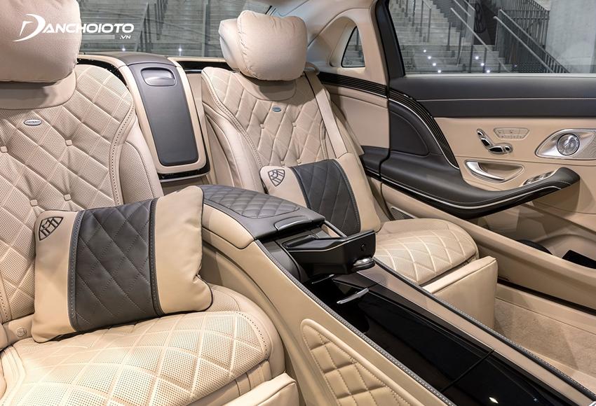 Hệ thống ghế ngồi Mercedes Maybach