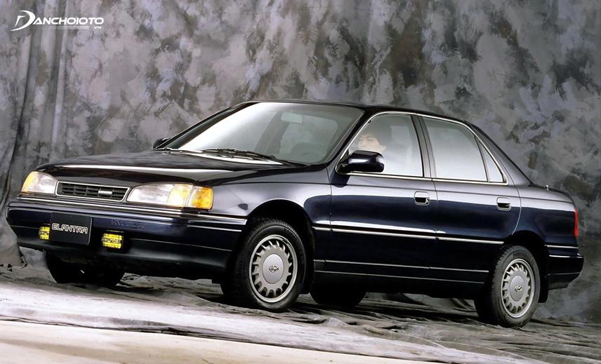 Hyundai Elantra first debuted in 1990