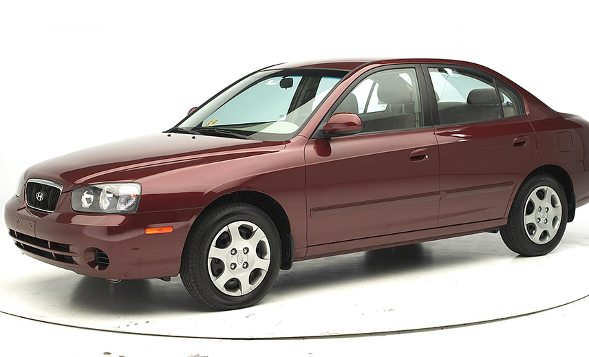 Hyundai Elantra with a completely new design was released in 2000