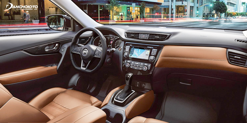 The interior space of the X-Trail 2018 is more spacious than the 2018 CX-5