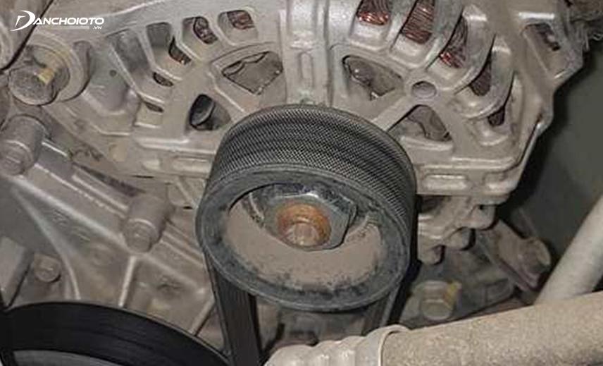 Nhiều trường hợp xe Hyundai Elantra bị lỗi puly máy phát, máy bơm nước