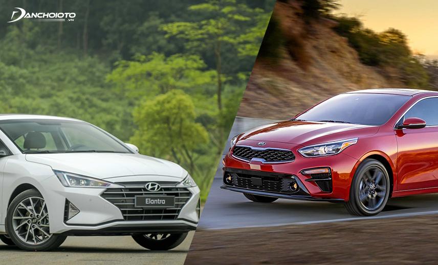 So sánh Kia Cerato và Elantra, 2 mẫu xe khác nhau về phong cách thiết kế đi cùng với cảm giác lái