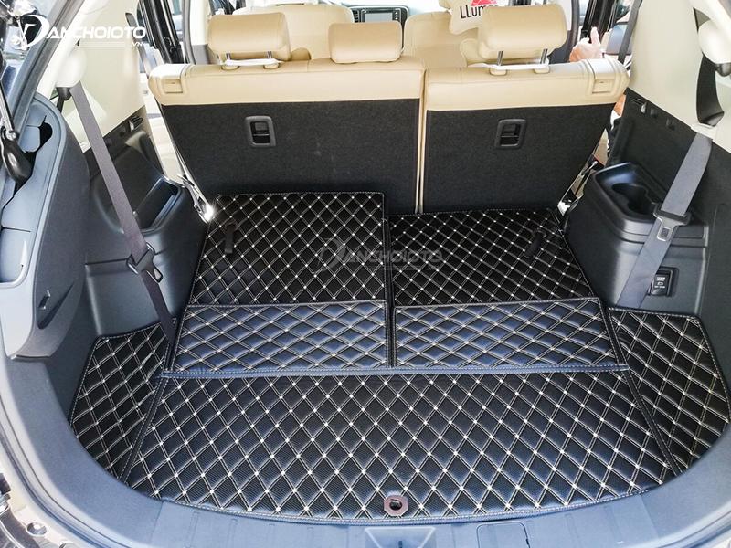 Thảm lót sàn ô tô 5D, 6D có mẫu da vân carbon sang trọng, đẳng cấp