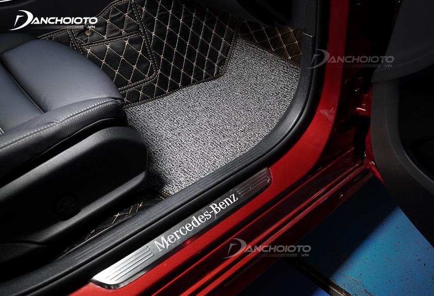Thảm lót sàn oto 5D, 6D giúp giữ gìn sàn xe sạch sẽ, chống ẩm, chống nấm mốc tốt