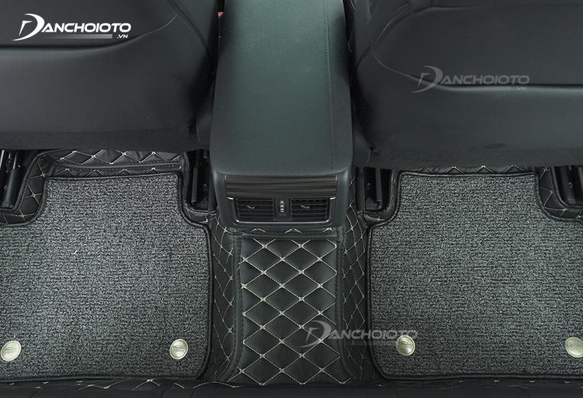 Thảm lót sàn xe ô tô 5D, 6D có khả năng chống ồn tốt nhất hiện nay