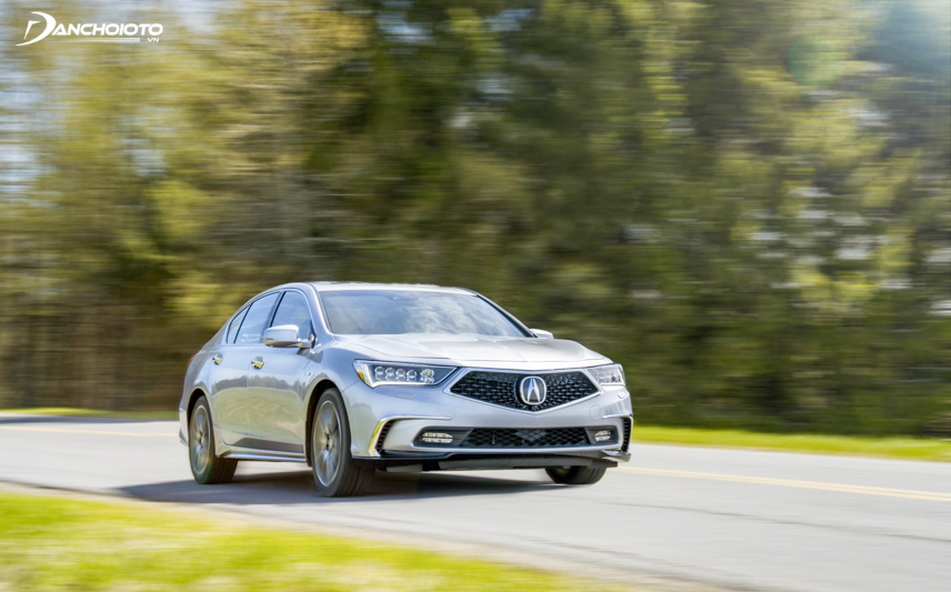 Acura RLX 2018 sử dụng 2 tùy chọn động cơ