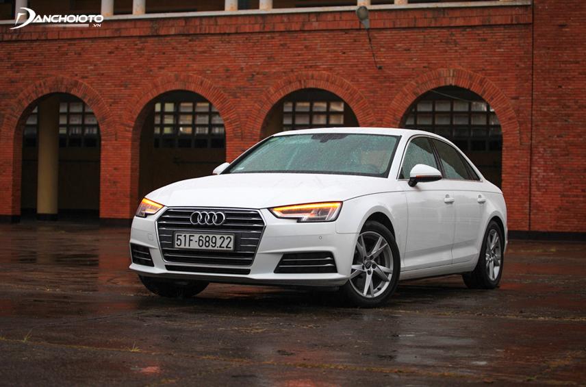 Audi A4 mang diện mạo trẻ trung, thể thao đầy phóng khoáng
