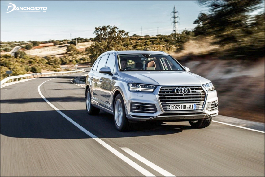 The Audi Q7 2019 is confident to operate well at high speed