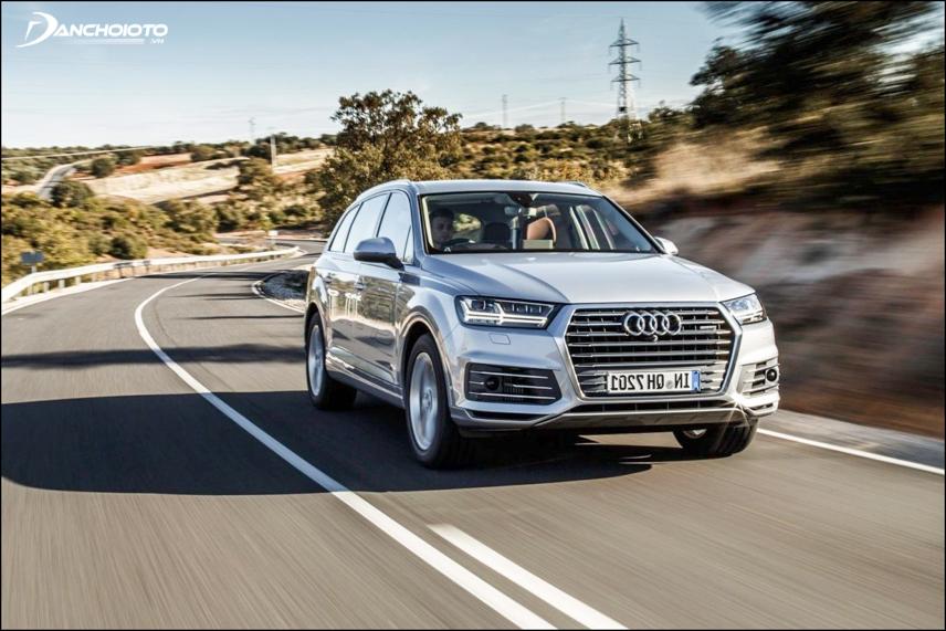 Audi Q7 2019 tự tin vận hành tốt ở tốc độ cao