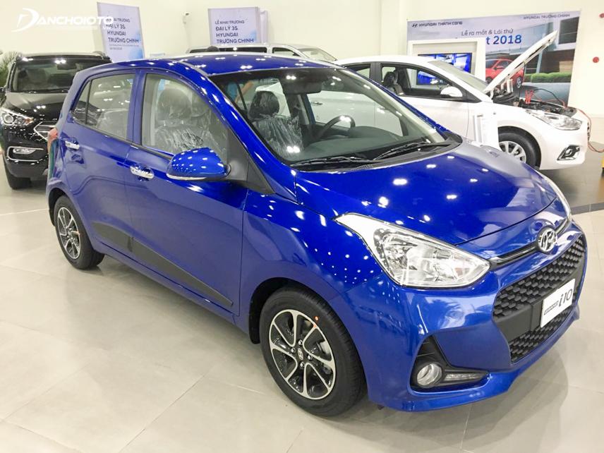 Hyundai i10 có kiểu dáng thể thao và hấp dẫn với giới trẻ hơn