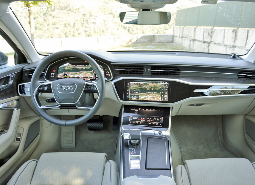 Extremely modern cockpit on technology of A6