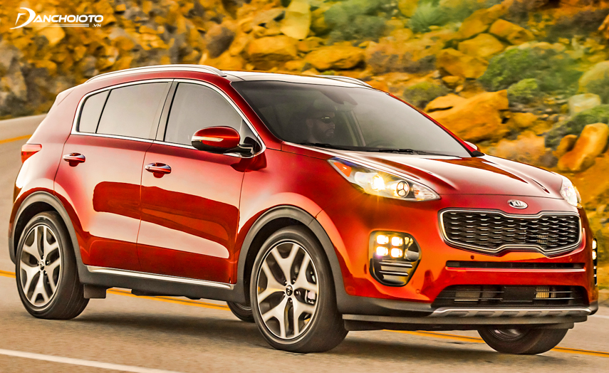 Kia Sportage 2018 is equipped with many safety functions