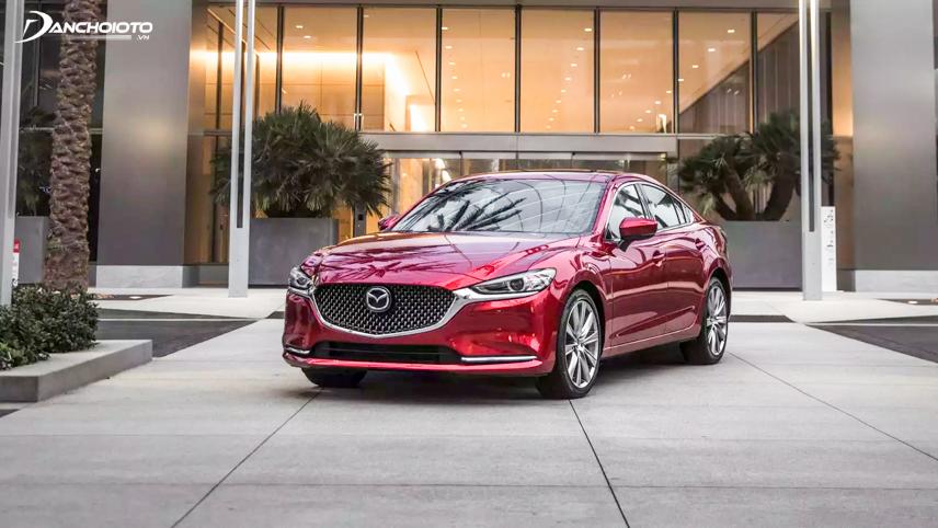 Mazda 6 2018 có chiều dài trục cơ sở lớn hơn Mazda CX-5 2018