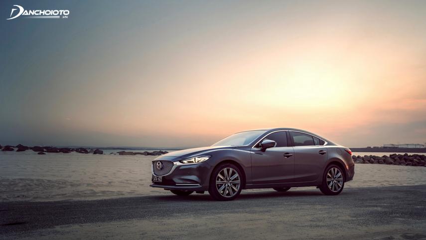 The 2018 Mazda 6 uses SkyActiv technology on its engine block